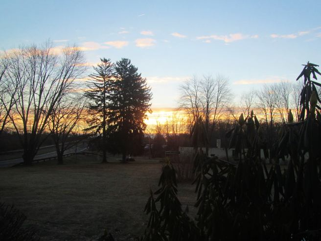 NYE sunrise, 2013. Sunrises don't change too much.