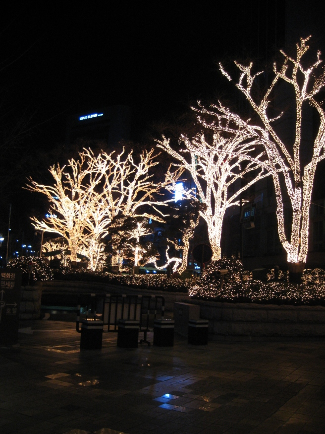 Seoul Christmas Lights 2