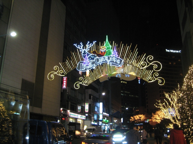 Seoul Christmas Lights 3